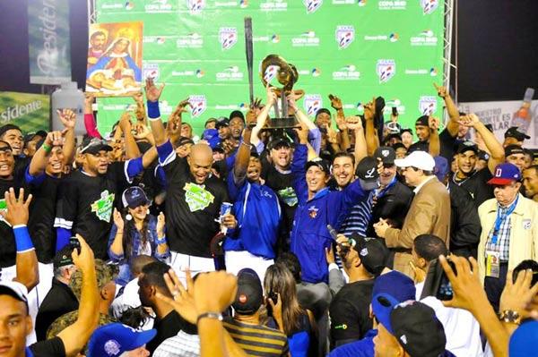 Tigres del Licey campeon LIDOM 2014