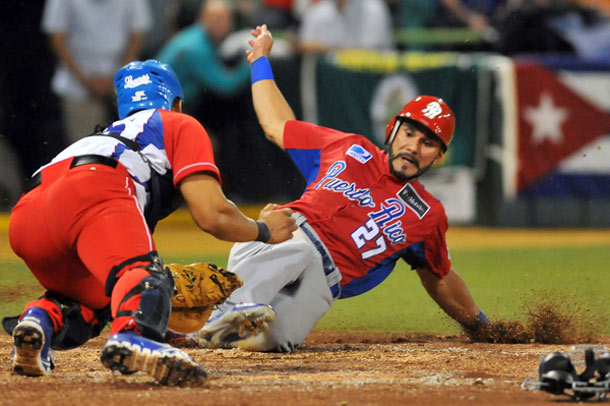 Partido Cuba Puerto Rico en Serie del Caribe 2015