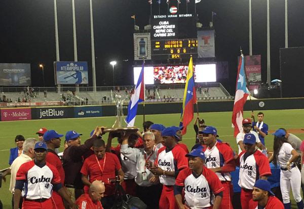 Serie del Caribe 2015 Cuba campeón