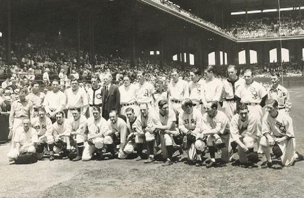 El equipo de la Liga Americana de 1933, primer ganador