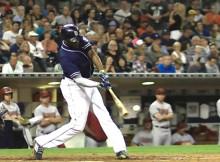El swing de Justin Upton estaría a servicio de los Yankees en 2016
