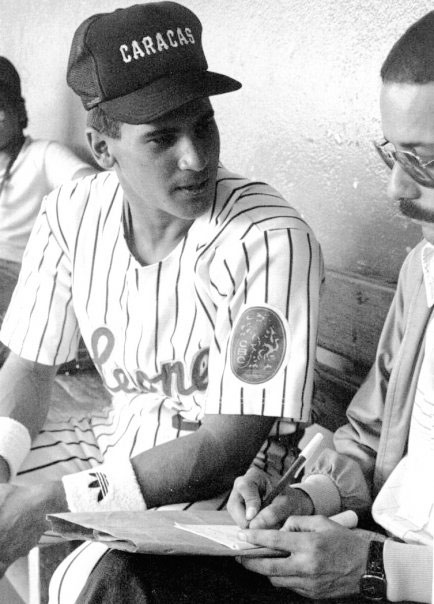 Mi primera entrevista con Omar en el estadio Universitario, en 1985