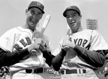 Ted Williams y Joe DiMaggio, iconos de dos clubes de esta División