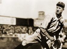 Grover Cleveland Alexander ganó 30 o más juegos tres veces para los Filis