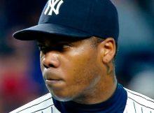 El tránsito de Aroldis Chapman con los Yankees pudiera ser breve