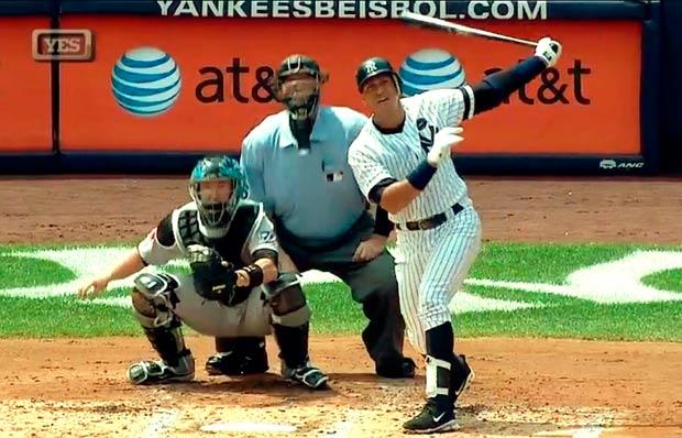 Sin duda, Alex Rodríguez ha sido un gran bateador
