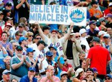 Los fanáticos de los Mets en Citi Field siempre creerán en los milagros